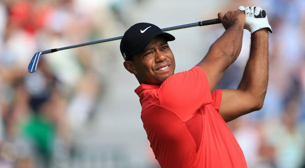 Tiger Woods insists he is not