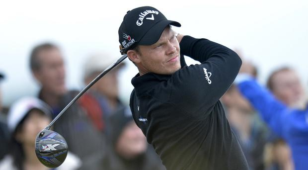 Danny Willett was unperturbed by the weather at St Andrews