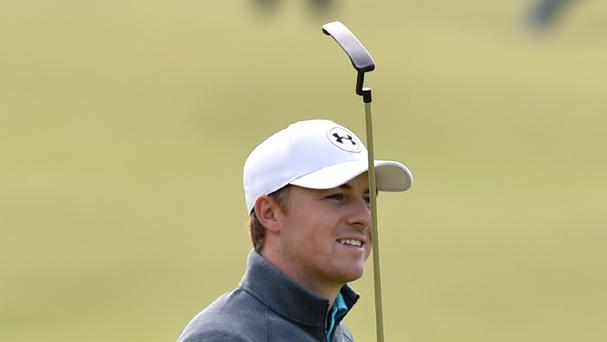 Jordan Spieth is well placed at St Andrew's