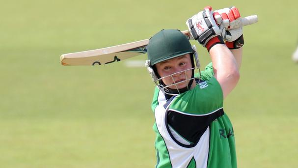 Paul Stirling starred with bat and ball as Ireland claimed a seven-wicket win to qualify for the World Twenty20