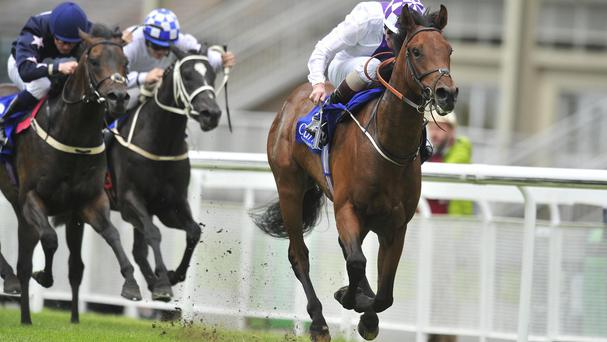 Leath Na Hoibre wins at the Curragh