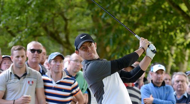 Rory McIlroy is hoping to be back in action soon