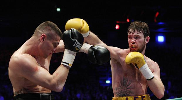 Andy Lee, right, will now fight Billy Joe Saunders on October 10.