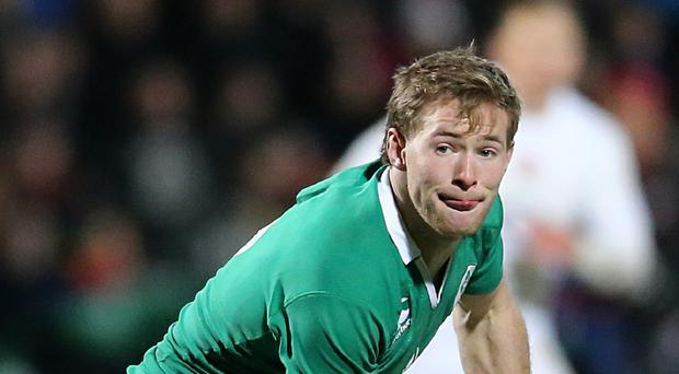 Joe Schmidt insists stars like Kieran Marmion, pictured, still have a World Cup selection chance despite leaving Ireland's squad this week