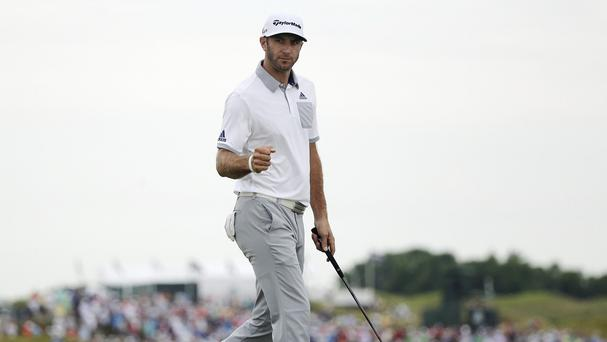 Dustin Johnson fired an opening round 66 in the US PGA Championship (AP)