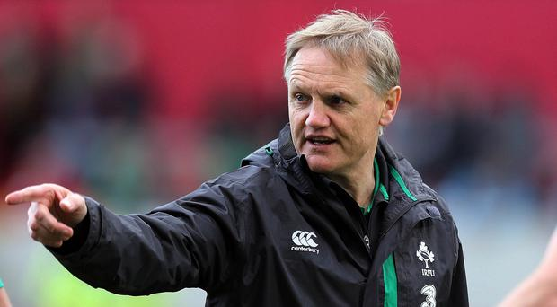 Ireland boss Joe Schmidt, pictured, has kept faith with prop Nathan White despite injury problems