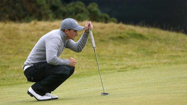Paul Dunne fell just short of the semi-finals at the US Amateur Championship
