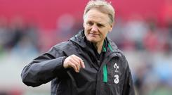 Joe Schmidt will assess his options at the weekend