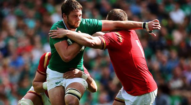 Iain Henderson is hopeful he will be named in Ireland's World Cup squad