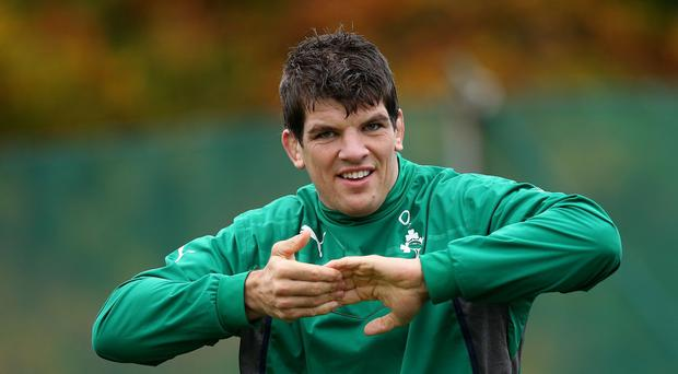 Donncha O'Callaghan is enjoying life at Worcester