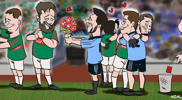What is it with Dublin? We try so hard to love her team and they helped us all season with classy, open football. Dublin were the guardians of the game as it should be played, and then what do they do?