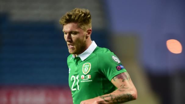 Republic of Ireland midfielder Jeff Hendrick