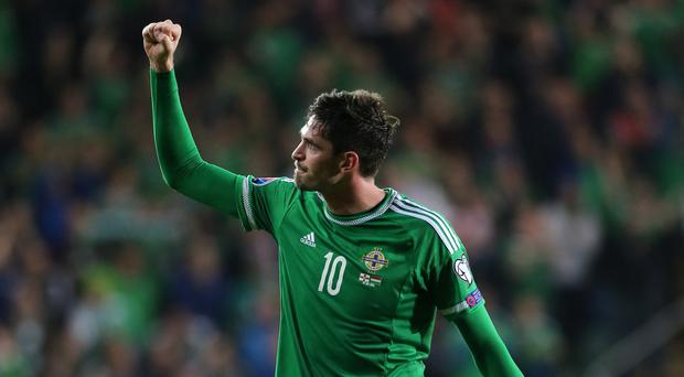 Northern Ireland's Kyle Lafferty is willing to fight for his Norwich future