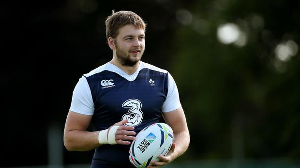 Iain Henderson starred in Ireland's 50-7 World Cup victory over Canada
