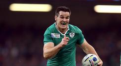 Johnny Sexton believes Japan beating South Africa has handed Ireland a World Cup