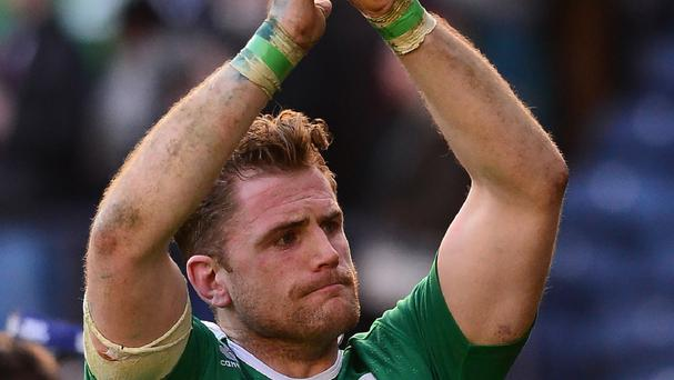 Jamie Heaslip believes rugby has no problem with performance-enhancing drugs