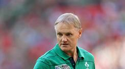 The World Cup is only just getting started for Joe Schmidt and his Ireland team