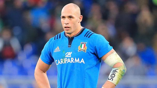 Sergio Parisse, pictured, is still two fitness tests away from being cleared to face Ireland on Sunday