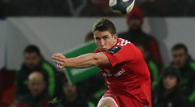 Ian Keatley landed the decisive kick in Munster's win