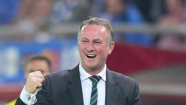 Northern Ireland's boss Michael O'Neill wants his side to make history against Greece on Thursday