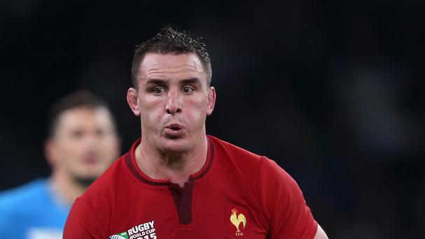 Forwards coach Simon Easterby has warned Ireland to be wary of Louis Picamoles, pictured, against France