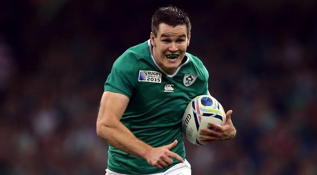 Johnny Sexton, pictured, will not be bullied off his usual stride against France, according to Ireland boss Joe Schmidt