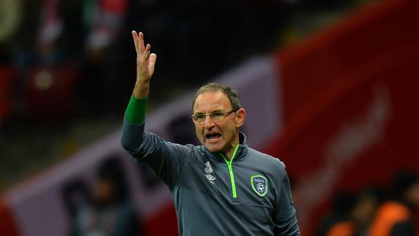 Republic of Ireland manager Martin O'Neill is adopting a bullish stance ahead of the Euro 2016 play-offs