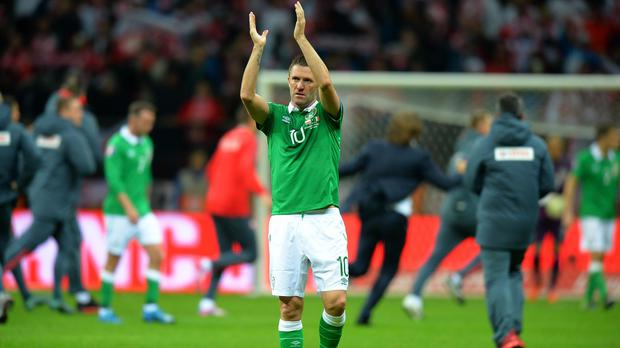 Robbie Keane would have accepted a play-off berth if offered it at the start of the qualification campaign