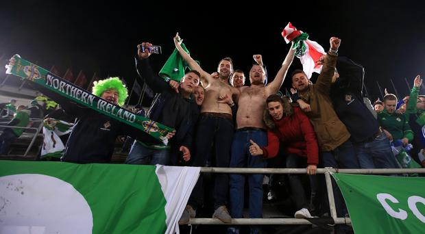 Northern Ireland won Group F with 21 points to qualify for France 2016