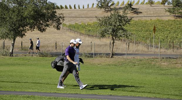 Rory McIlroy has been enjoying the scenery at the Frys.com Open (AP)