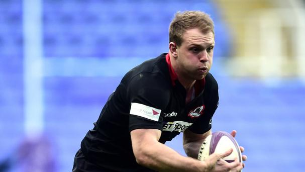 Edinburgh's Greig Tonks was on form with the boot in the win over Ulster