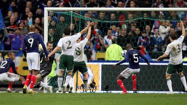 Republic of Ireland were controversially beaten by France in their 2010 World Cup play-off