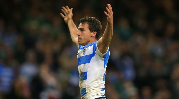 Juan Imhoff's two tries inspired Argentina to victory over Ireland