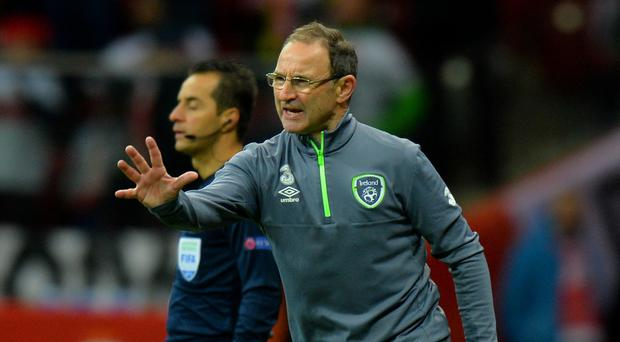 Republic of Ireland manager Martin O'Neill has named his squad for next month's play-off