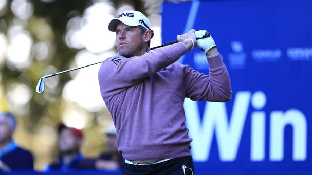Lee Westwood was three shots off the lead after an opening 64 in Turkey