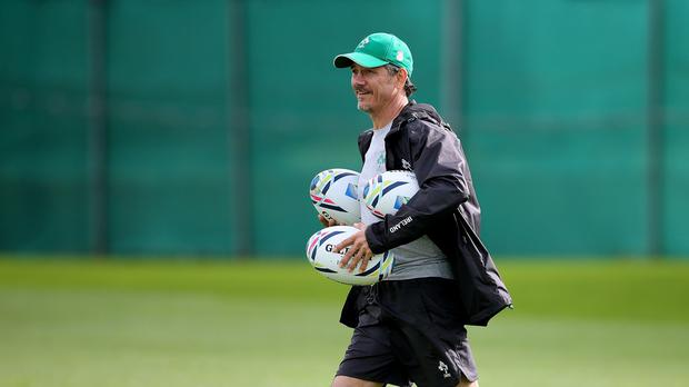 Ireland have a job on their hands to replace defence coach Les Kiss, pictured, according to Rory Best