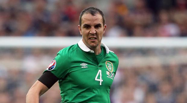 John O'Shea is unlikely to be fit for the Republic of Ireland's Euro 2016 play-off