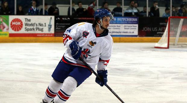 Robert Lachowicz was on target for Nottingham Panthers