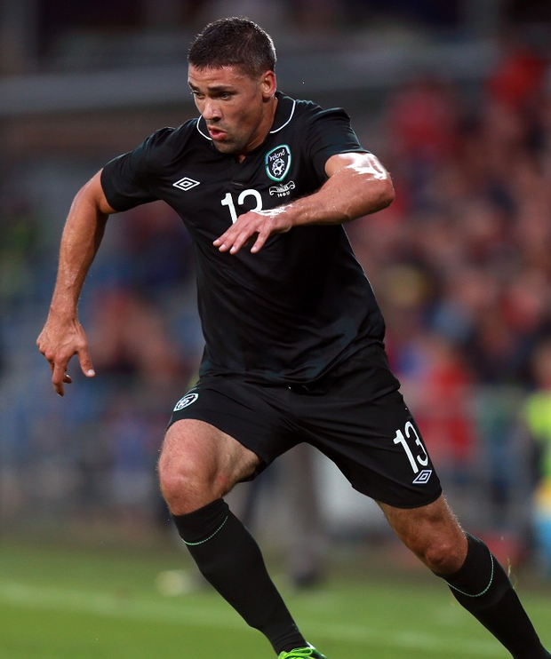 Jon Walters will miss Friday's match with Bosnia due to suspension