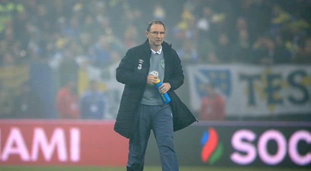 Republic of Ireland manager Martin O'Neill saw his team draw 1-1 in Bosnia