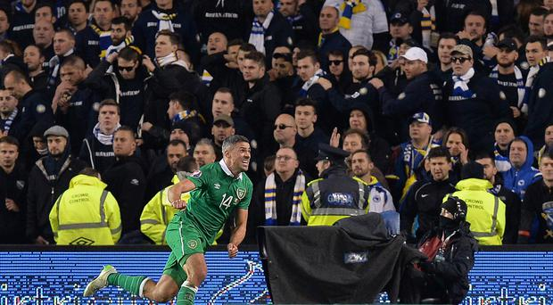 Jonathan Walters was the Republic of Ireland's star man in Dublin