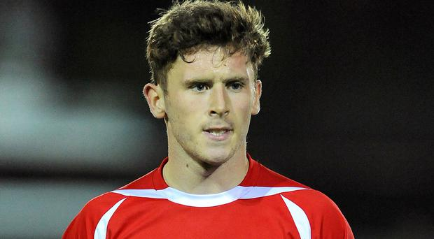 Accrington striker Shay McCartan opened the scoring for Northern Ireland Under-21s but they were ultimately overcome