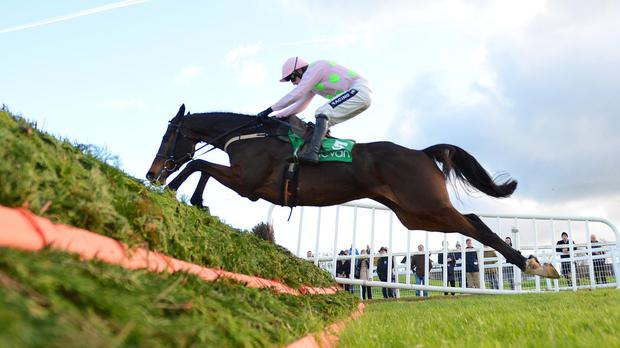 Douvan takes a bit of a chance at the last