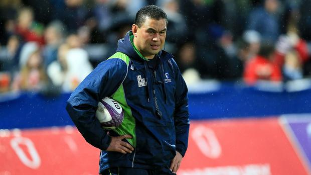 Pat Lam's Connacht side are currently top of the Pro12