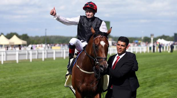 Pat Smullen on Free Eagle