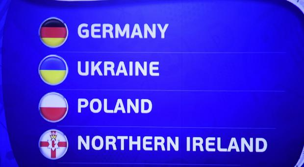 Northern Ireland have a date against World Cup winners Germany