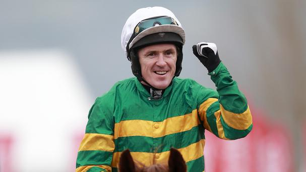 Tony McCoy will receive the award in Belfast on Sunday