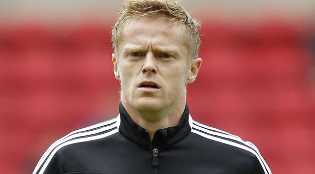 Damien Duff won 100 caps for the Republic of Ireland