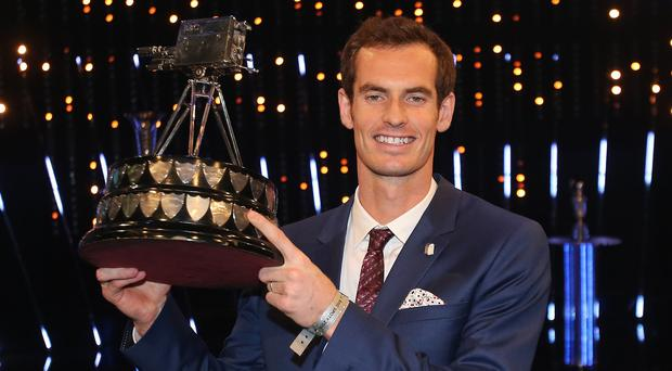 Andy Murray won the Sports Personality of the Year award for the second time
