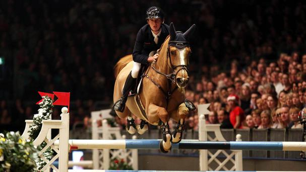 Bertram Allen was disqualified from the Olympia Grand Prix